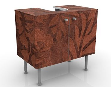 Mobile per lavabo design Leather Structure
