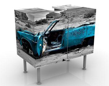 Mobile per lavabo design Turqouise Cadillac