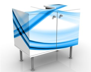 Mobile per lavabo design Blue Element No.2