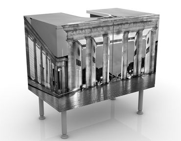 Mobile per lavabo design Illuminated Brandenburg Gate II