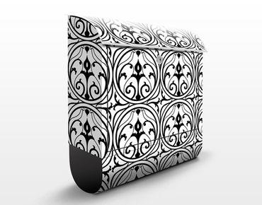 Cassetta postale Ornamental Circles Design Pattern 39x46x13cm