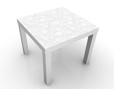 Tavolino design Ornate Pattern with Circles Light