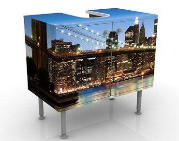 Mobile per lavabo design Brooklyn Bridge In New York