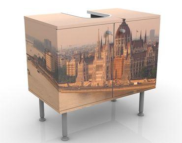 Mobile per lavabo design Budapest Skyline