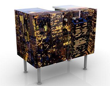 Mobile per lavabo design New York Skyline At Night
