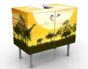 Mobile per lavabo design no.CG9 Savannah Sunset