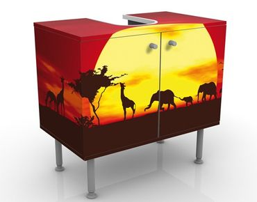 Mobile per lavabo design no.CG80 Sunset Caravan