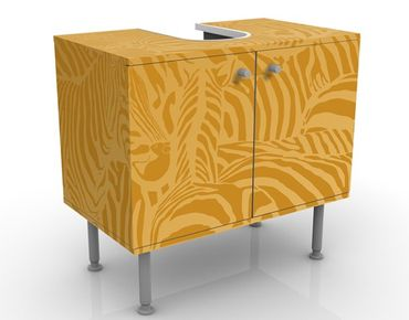 Mobile per lavabo design no.DS5 Zebras Beige