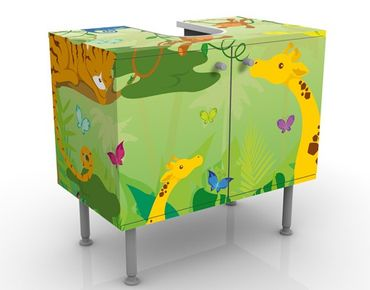 Mobile per lavabo design no.IS87 Jungle Playground