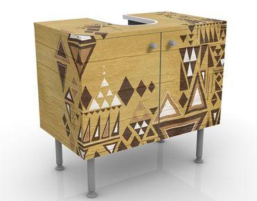 Mobile per lavabo design no.MW17 Amerindian Owl