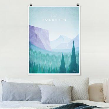 Poster - Poster Viaggi - Yosemite Park - Verticale 4:3