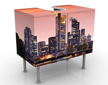 Mobile per lavabo design Frankfurt Skyline