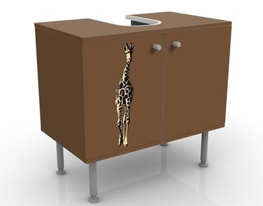 Mobile per lavabo design no.TA1 Giraffe