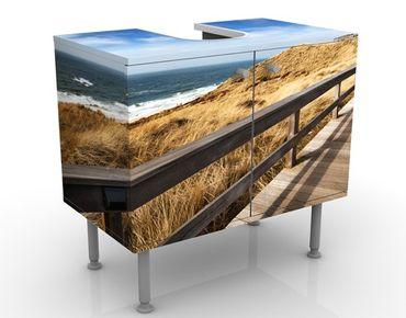 Mobile per lavabo design North Sea Promenade