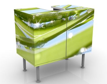 Mobile per lavabo design Fresh Green