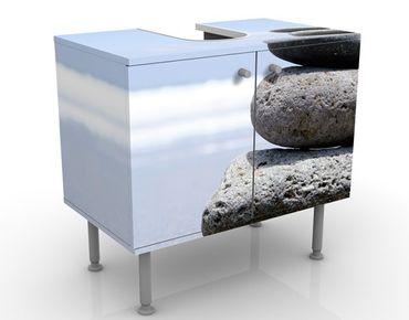 Mobile per lavabo design Sand Stones