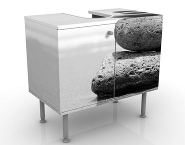 Mobile per lavabo design Sand Stones No.2