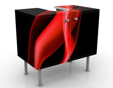 Mobile per lavabo design Magical Flame