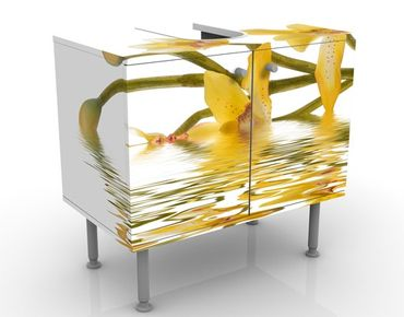 Mobile per lavabo design Saffron Orchid Waters