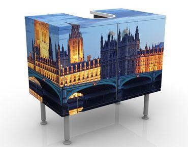 Mobile per lavabo design London At Night