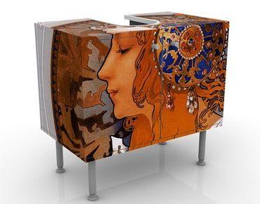 Mobile per lavabo design Loren