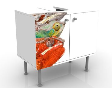 Mobile per lavabo design Colourful Chameleon