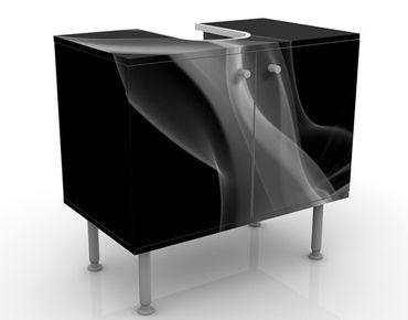 Mobile per lavabo design Silver Smoke