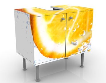 Mobile per lavabo design Splash Orange