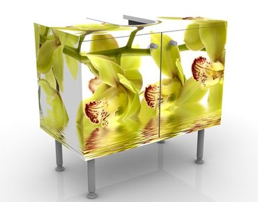 Mobile per lavabo design Splendid Orchid Waters