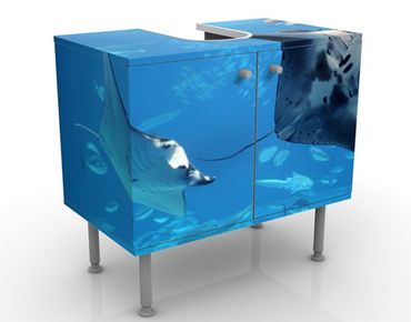 Mobile per lavabo design Manta Ray