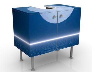 Mobile per lavabo design Silver Moon Rise