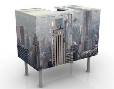 Mobile sottolavabo - New York all'alba - Mobile bagno