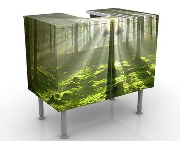 Mobile per lavabo design Spring Fairytale
