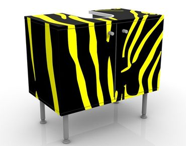 Mobile per lavabo design Zebra Pop