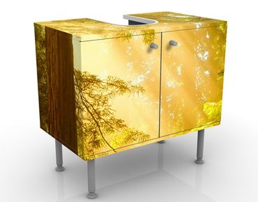 Mobile per lavabo design Morning Gold