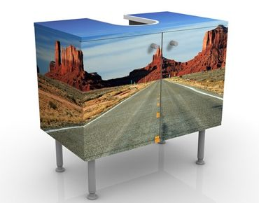 Mobile per lavabo design Monument Valley I