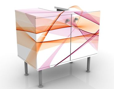Mobile per lavabo design Mystical Waves
