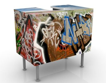 Mobile per lavabo design Paradise For Skaters
