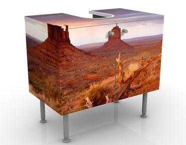 Mobile per lavabo design Monument Valley At Sunset