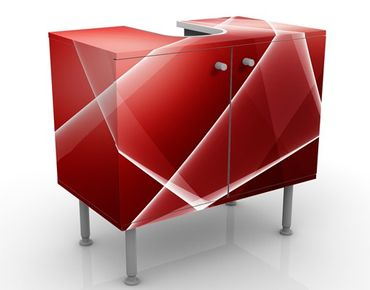 Mobile per lavabo design Red Heat