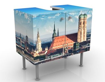 Mobile per lavabo design Munich