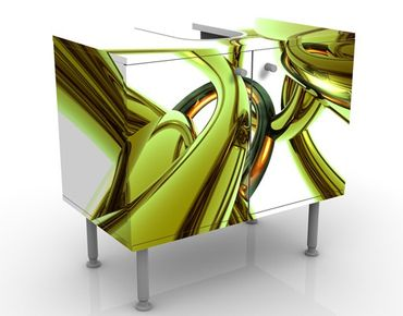 Mobile per lavabo design Stunning Green Style