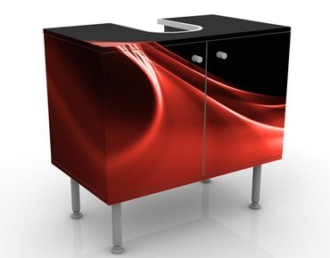 Mobile per lavabo design Red Wave
