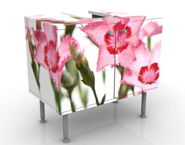 Mobile per lavabo design Pink Flowers