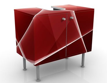 Mobile per lavabo design Red Reflection