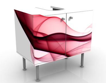 Mobile per lavabo design Red Flame