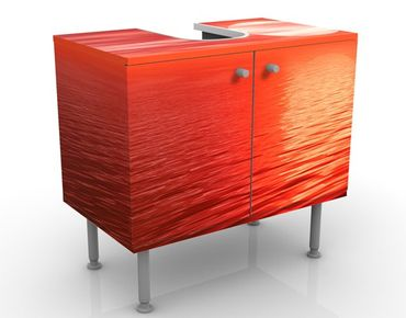 Mobile per lavabo design Red Sunset