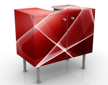 Mobile per lavabo design Red Turbulency