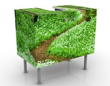 Mobile per lavabo design Romantic Forest Track