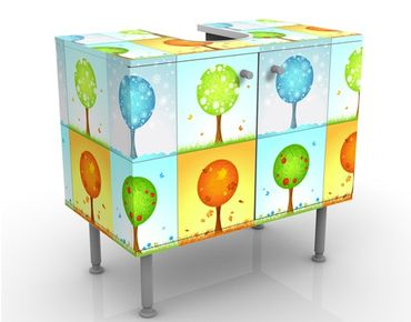Mobile per lavabo design 4 Seasons